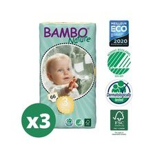 Bambo Nature 3x66 Couches Taille 3 (5-9kg)