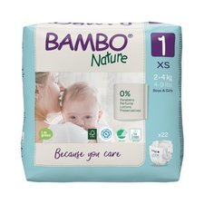 Bambo Nature 22 Couches Taille 1 (2-4kg)