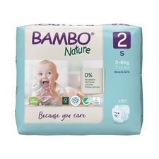 Bambo Nature 30 Couches Taille 2 Mini (3-6kg)