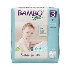 Bambo Nature 28 Couches Taille 3 Midi (4-8kg)