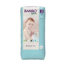 Bambo Nature 52 Couches Taille 3 Midi (4-8kg)