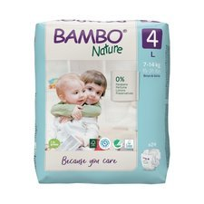 Bambo Nature 24 Couches Taille 4  (7-14kg)