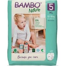 Bambo Nature 22 Couches Taille 5 (12-18kg)