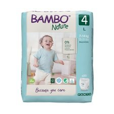 Bambo Nature 20 Culottes Taille 4 (7-14kg)