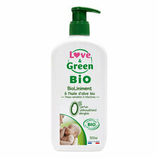 Love & Green liniment BIO bébé 500ml
