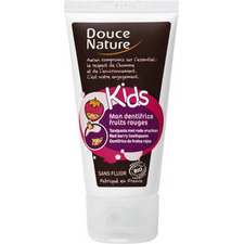 Douce nature Dentifrice pour enfant Fruits rouges