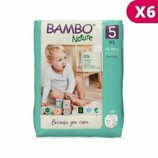 Bambo Nature 6x22 Couches Taille 5 (12-18kg)