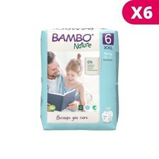 Bambo Nature 6x20 Couches Taille 6 (16-30kg)