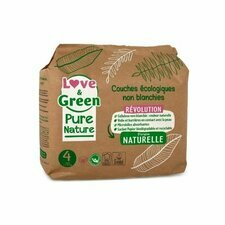 Love & Green Pure Nature 38 couches T4 7/14Kg